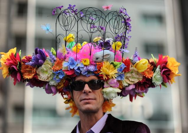 NYC Easter bonnet parade