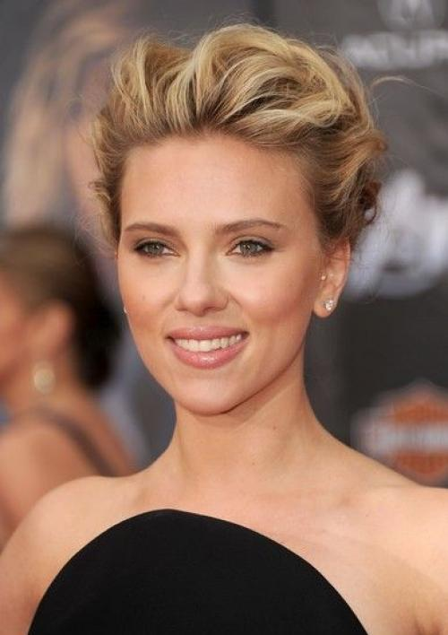 How To Style Your Hair Like Scarlett Johansson Helensgoodhairday Com